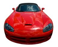 Vorderseite eines Sportautos Lizenzfreies Stockfoto