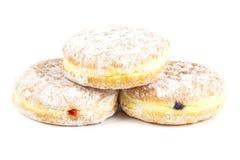 Vorderseitestapel des Donuts Lizenzfreies Stockfoto