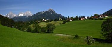 Vorderstoder, Totes Gebirge, Oberosterreich, Austria stock photo