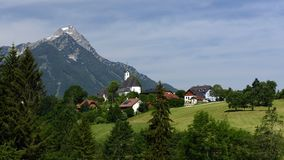 Vorderstoder, Totes Gebirge, Oberosterreich, Austria royalty free stock photo