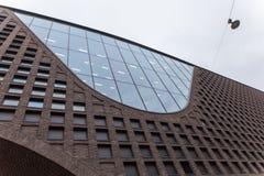 Vorderteil der Helsinki-Hochschulzentralbibliothek des Gebäudes in Finnland Stockfotografie