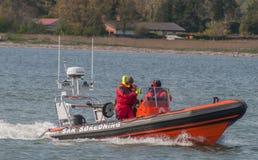 Vordingborg Dani, Maj 25 - 2017: Duńska SAR denna łódź ratunkowa s obraz royalty free
