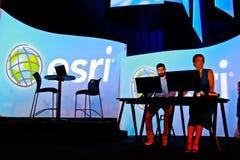 Vorführer bei der ESRI Benutzer-Konferenz 2010 Stockfotografie