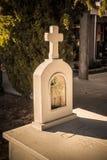 Vorfahren - katholische Beerdigungen Stockbild