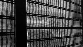 Vorhänge auf dem Fenster Lizenzfreies Stockfoto