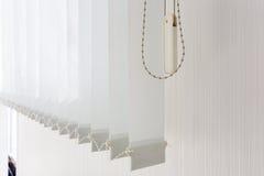 Vorhänge für Büro und Haus Stockbilder