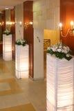 Vorhalle des Hotels lizenzfreie stockfotos