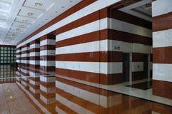 Vorhalle im Marmor Lizenzfreies Stockbild