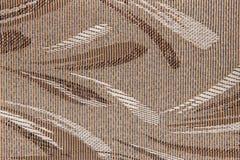 Vorhang-Beschaffenheitshintergrund des Gewebes blinder Lizenzfreie Stockbilder