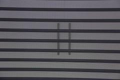 Vorhang gemasert Stockbild