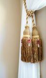 Vorhang-Quasten Stockbild