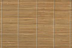 Vorhang, Vorhänge vom Bambus, der abstrakte Hintergrund des Bambusvorhangs auf Fenster Stockfotografie