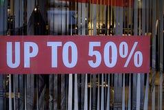 VORIG DAG HET WINKELEN JAAR 2013 Stock Foto's