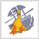 Vorige dag van Cesar Duck vector illustratie