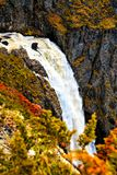 Voringfossen, Norway, fascinating water fall Royalty Free Stock Image