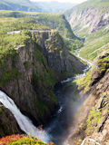 Voringfossen, Norway Royalty Free Stock Photography