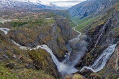 Voringfossen, Norway Royalty Free Stock Images