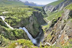 Voringfossen, Norway Stock Photos
