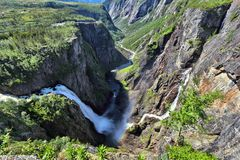 Voringfossen, Norway Royalty Free Stock Photo