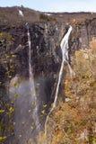 Voringfossen vattenfall, Norge Arkivfoto