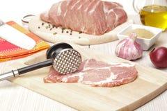 VorläuferSchweinefleisch Lizenzfreie Stockfotos