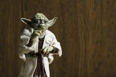 Vorlagen-Joda Action Figure vom Star Wars-Film Lizenzfreie Stockbilder