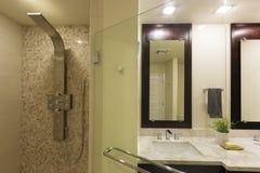 Vorlagenbadezimmer Stockbilder