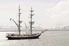 Vorlagensegelboot zwei Lizenzfreies Stockbild