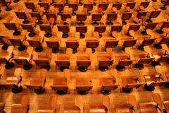 Vorlesungssal Stockbild