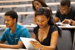 Vorlesungssal der Studenten Stockfotografie