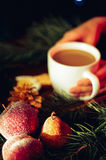 Vorm een koffie tot een kom Royalty-vrije Stock Foto's