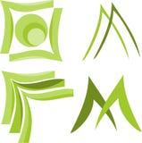 Vorm Logo Vector Royalty-vrije Stock Afbeelding