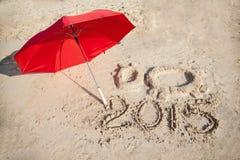 Vorm van de Geit - symbool van het jaar van 2015 Stock Afbeelding