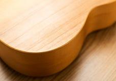 Vorm van gitaar stock afbeelding