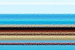 vormen Blauwe gouden beige fosforescerende abstracte achtergrond, ontwerp Stock Afbeeldingen