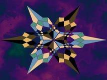 Vormen geometrische harmonisch stock illustratie