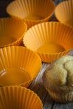 Vormen voor cupcakes Stock Fotografie