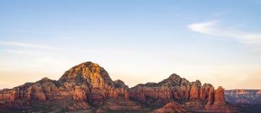 Vorming van de Sedona de rode rots in Arizona stock foto