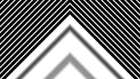 Vorming van pijl van tot beneden, hoog de motie van definitiecgi ideaal als achtergrond voor het uitgeven Abstracte CGI-motie stock illustratie