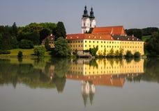 Vornbach-Abtei Lizenzfreies Stockbild