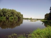 Vorona河 免版税库存照片