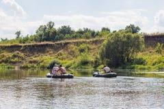 Vorona flod Royaltyfria Bilder