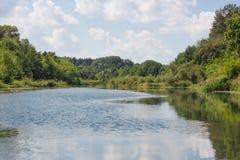 Vorona flod Fotografering för Bildbyråer