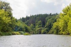 Vorona-Fluss lizenzfreie stockbilder