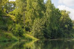 Vorona river stock images