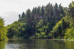 Vorona rzeka Obrazy Stock