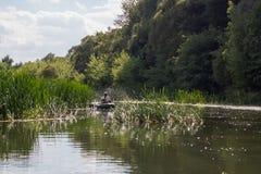 Vorona rzeka Obrazy Royalty Free