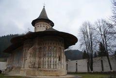 voronet修道院罗马尼亚 免版税库存照片
