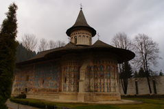 voronet修道院罗马尼亚 库存照片