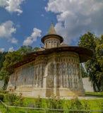 Voronet修道院,罗马尼亚 免版税库存图片